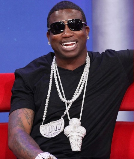 Gucci Mane Iced Out Ice Cream Cone Chain Piece Tattoo
