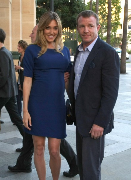 Guy Ritchie Jacqui Ainsley Premiere Pregnant Guy Ritchie