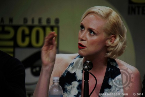 Game Of Thrones Panel Gwendoline Christie Gwendoline Christie