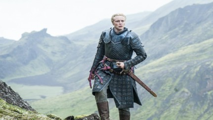 Gwendoline Christie In Game Of Thrones Full Hd Wallpaper Gwendoline Christie