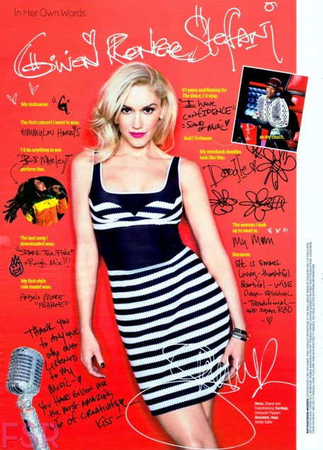 Fashion Scans Remastered Gwen Stefani Cosmopolitan Usa March Scanned By Vampirehorde Hq Fashion