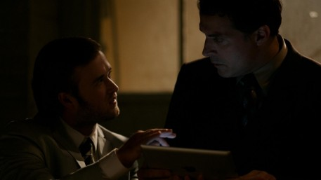 Still Of Rufus Sewell And Haley Joel Osment In Ill Follow You Down Haley Joel Osment