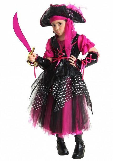 Halloween Costume For Kid The Pirate Girl Costumes