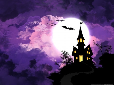 Spooky Halloween Background Background