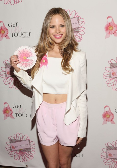Halston Sage Pretty In Pink Luncheon And Women Of Strength Awards March Halston Sage