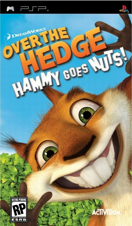 Over The Hedge Hammy Goes Nuts Psp Over The Hedge