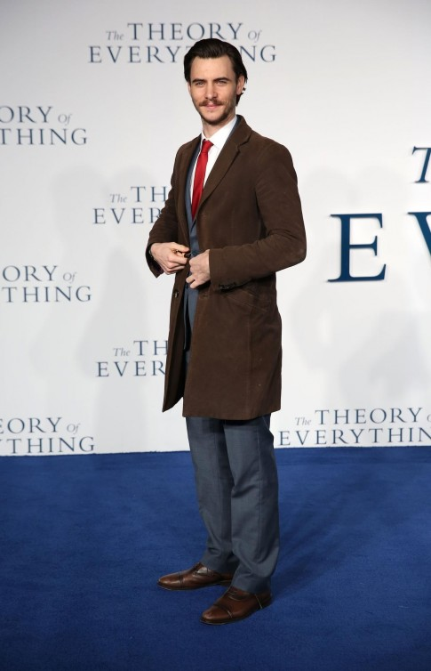 Harry Lloyd At The Theory Of Everything Harry Lloyd