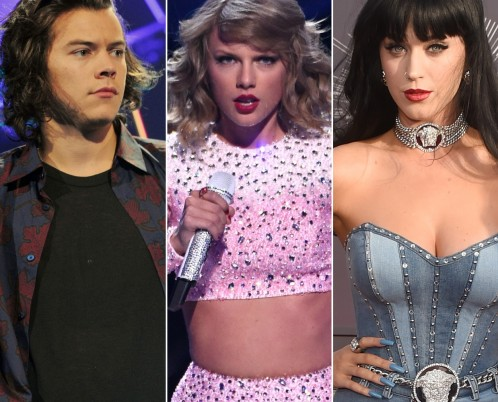 Harry Styles Taylor Swift Katy Perry And Taylor Swift