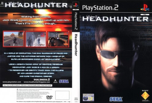 Headhunter Dvd Pal Front