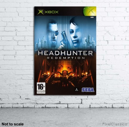 Headhunter Redemption Xbox Pal Walled Poster