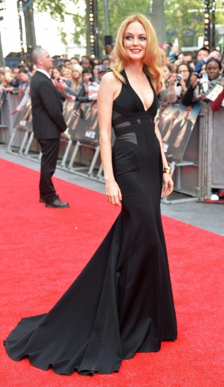 Heather Graham At The Hangover Part Premiere In London Heather Graham