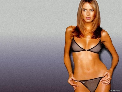 Heidi Klum Body Wallpaper Body