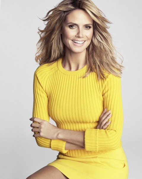 Heidi Klum Tesh Photoshoot For Marie Claire Us February Sexy
