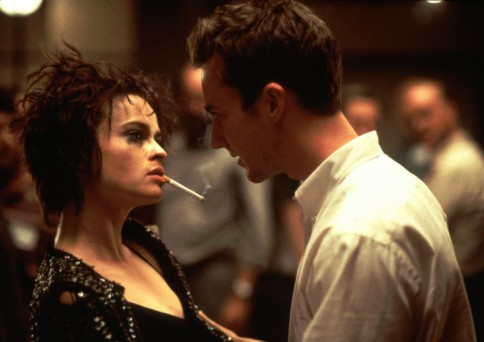 Still Of Helena Bonham Carter And Edward Norton In Fight Club Large Picture Fight Club