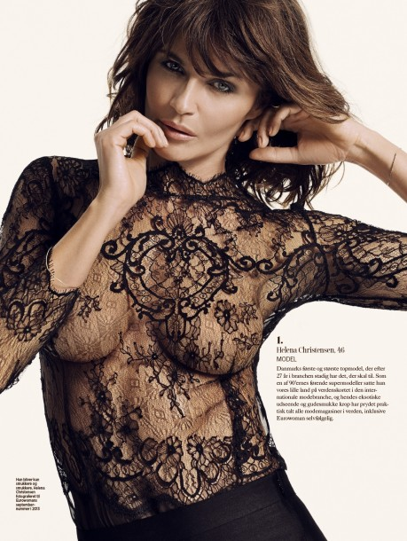 Eurowoman September Helena Christensen