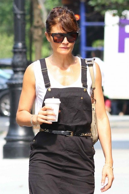 Helena Christensen Out In New York City Helena Christensen