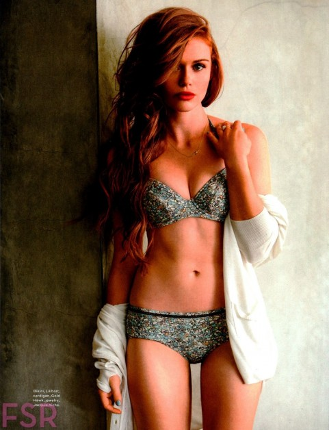 Holland Roden Photos For Maxim Magazine July August Issue Photoshoot