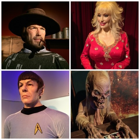 Celebrities And Movie Icons Smoky Mountain Attractions Hollywood Wax Museum Pigeon Forge Tn Bayoutravel Hollywood
