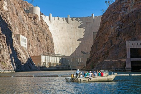 Large Hoover Dam