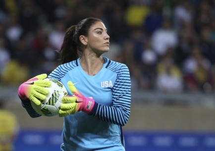 Hope Solo Suspended Soccer Hope Solo