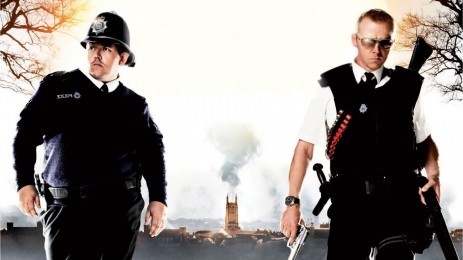 Movies Hot Fuzz Simon Pegg Nick Frost Blood And Ice Cream Hot Fuzz