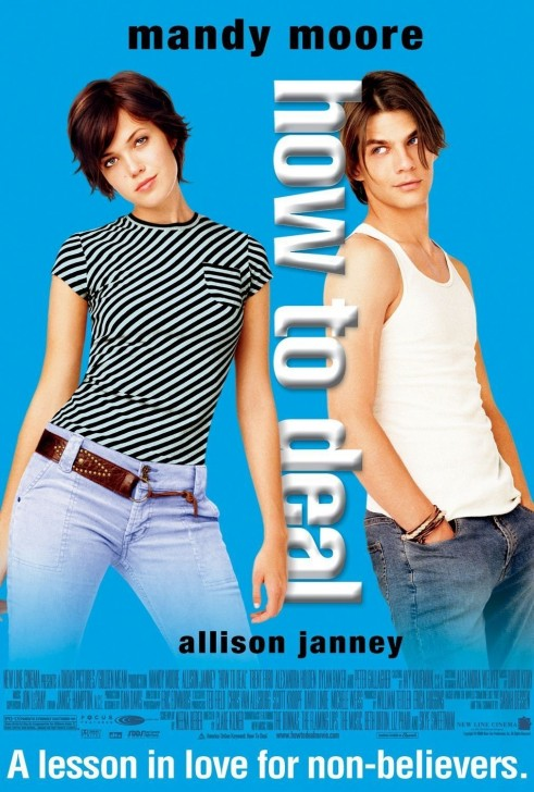 How To Deal Movie Poster Mandy Moore How To Deal