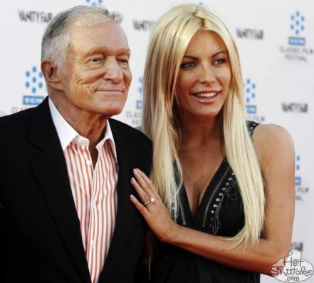 Crystal Harris Hugh Hefner Engaged Again Hugh Hefner