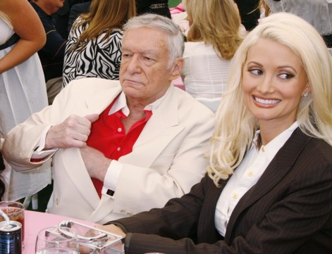 Holly Madison Hugh Hefner Hugh Hefner