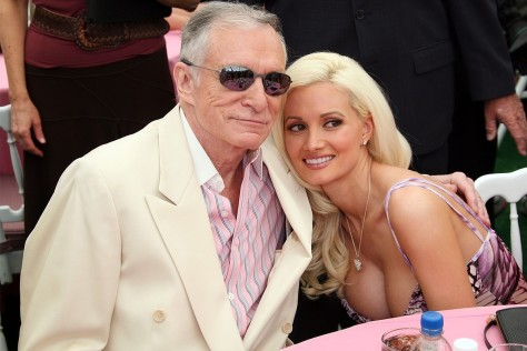 Hugh Hefner And Holly Madison Wife