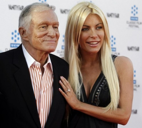 Hugh Hefner Crystal Harris Hugh Hefner