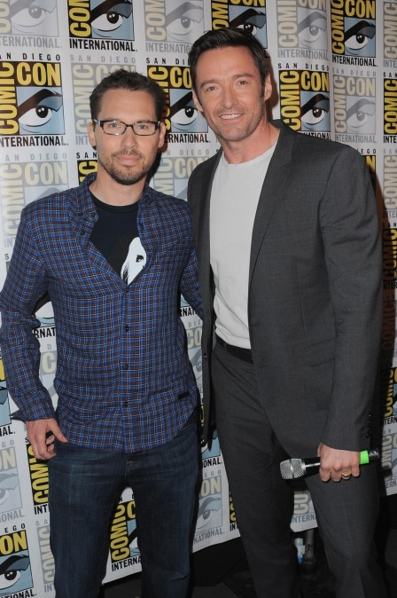 Bryan Singer And Hugh Jackman At Event Of Men Apocalypse Large Picture