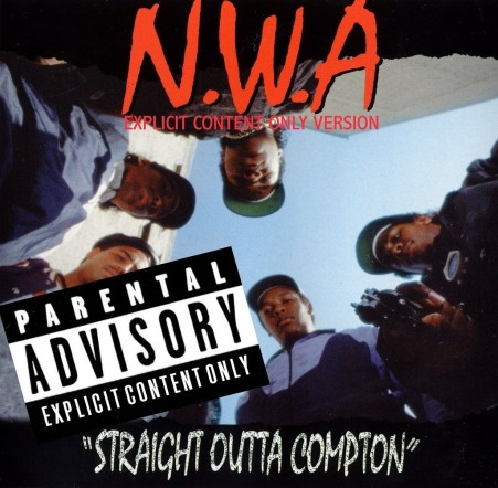 Nwa Consisted Of Dr Dre Eazy Ice Cube Dj Yella Mc Ren The Arabian Prince And The Doc Their Second Album Straight Outta Compton Marked The Beginning Of Gangsta Rap Son