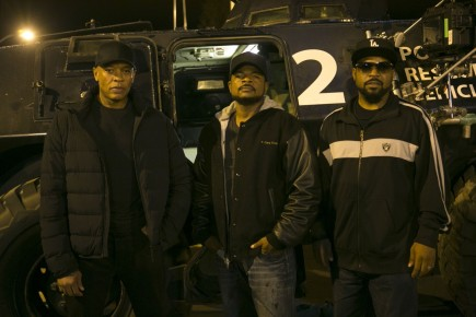 Straight Outta Compton Dr Dre Gary Gray And Ice Cube Ice Cube