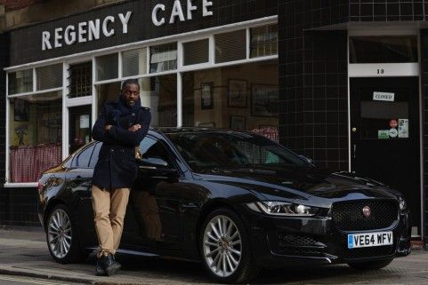 The Wire Actor Idris Elba To Test Drive Jaguar Xe From London To Berlin Idris Elba
