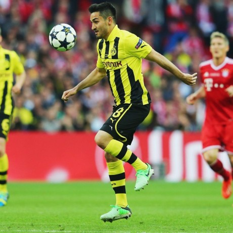 Hi Res Ilkay Gundogan Of Borussia Dortmund Controls The Ball Crop Exactw Ilkay Gundogan