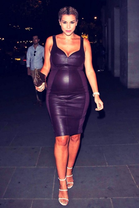 Imogen Thomas Arriving At The Stk Restaurant Dress