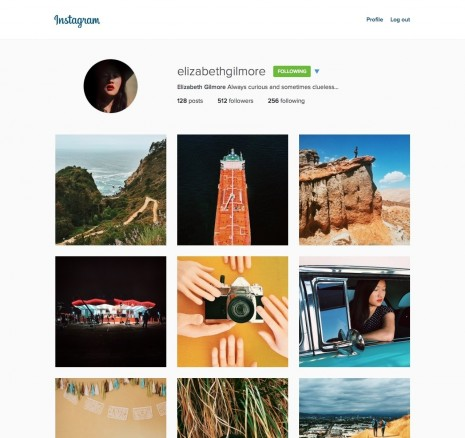 Redesigned Instagram Website Comes With Larger Photos