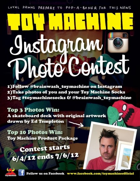 Toymachine Instagram Contest