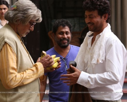 Amitabh Bachchan And Irrfan Khan In Piku Irrfan Khan
