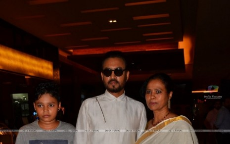 Irrfan Khan At Trailer Launch Of The Film Madari Irrfan Khan