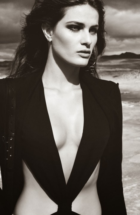 Isabeli Fontana For Redemption Choppers Ss Campaign Isabeli Fontana