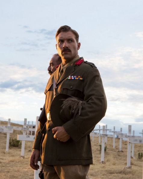 Jai Courtney As Lt Colonel Hughes In The Water Diviner Jai Courtney Jai Courtney