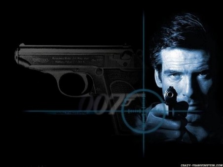 James Bond Shooting Wallpaper James Bond