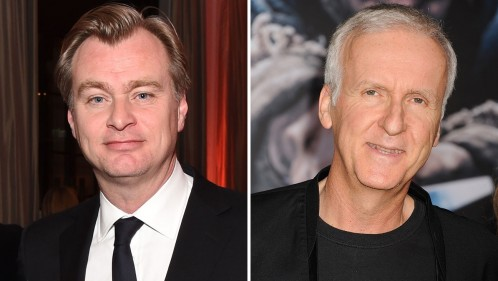 Christopher Nolan And James Cameron James Cameron