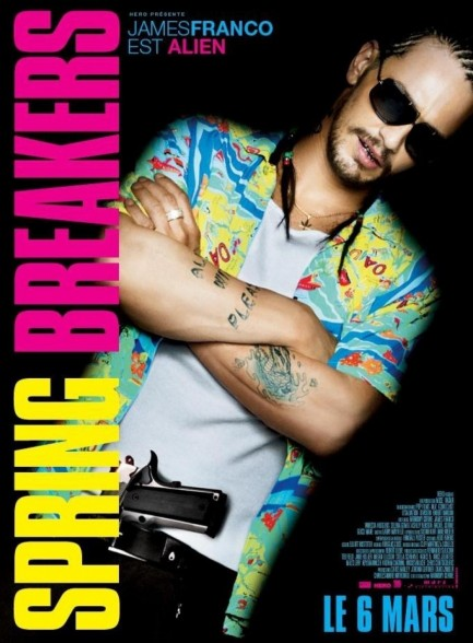 Alien Est Joue Par James Franco Spring Breakers Faff Eb Bd Ab Large Spring Breakers