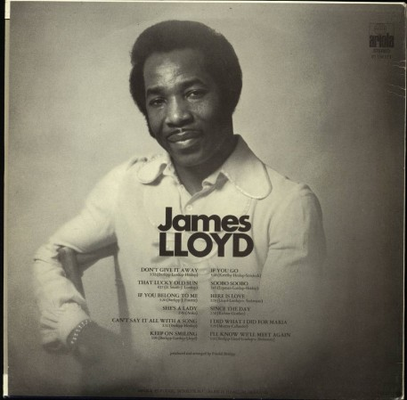Ariola James Lloyd Mister Keep On Smiling Dutch Lp