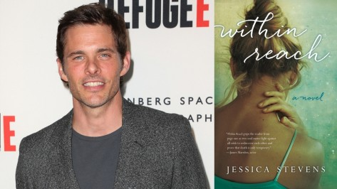 Celeb Book Recommendations James Marsden Within Reach James Marsden