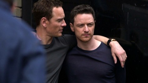 James And Michael James Mcavoy And Michael Fassbender