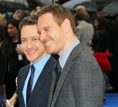 Men Days Of Future Past London Premiere James Mcavoy And Michael Fassbender Men