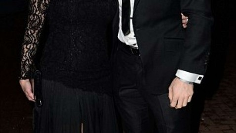 James Milner And His Wife Amy At His Charity Ball James Milner
